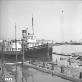 "Steam tug ""Prestige"" in Vancouver Harbour"