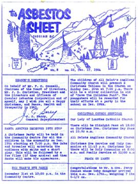 The Asbestos Sheet Dec. 1964