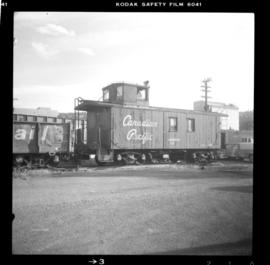 Old CPR caboose at Kamloops