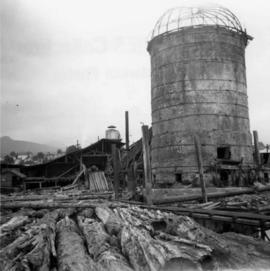 Shingle mill in North Vancouver