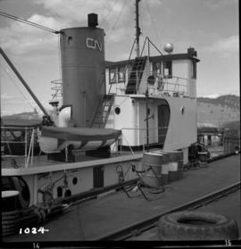 C.N.R. tug #6 on Okanagan Lake at Kelowna