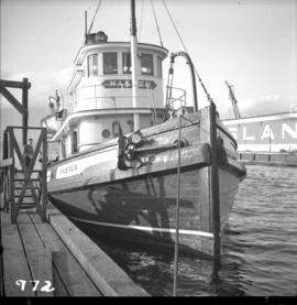 "Steam tug ""Master"" in Vancouver"