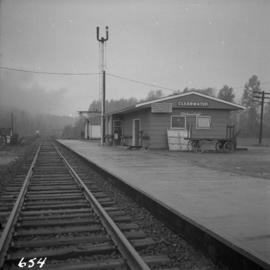 C.N.R. depot at Clearwater Station