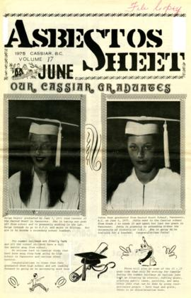 The Asbestos Sheet June 1975