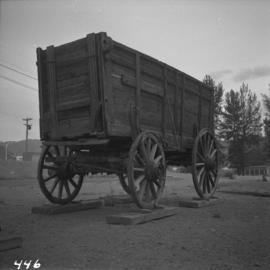 Cariboo freight wagon at Cache Creek