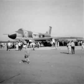 RAF Avro Vulcan Bomber at the Centennial International Airshow