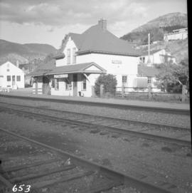 C.N.R. depot at Lytton
