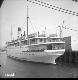 "Ship the ""Princess Louise"" at Lynn Terminals"