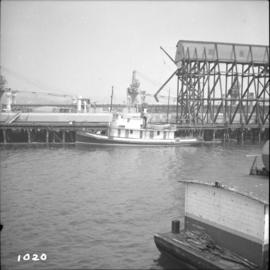 "Steam tug ""Master"" in Vancouver Harbour"