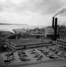 Newsprint plant in Powell River, B.C.