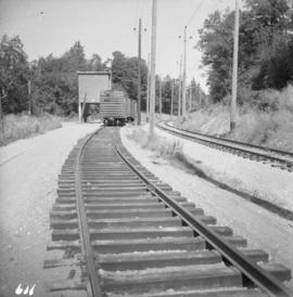 Loading spur on the B.C. Electric Railway