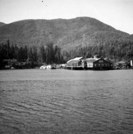 Deserted cannery at Nootka, B.C.