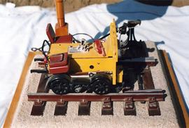 Model of a Fairmont track vehicle