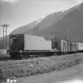 Pacific Great Eastern yards in Lillooet