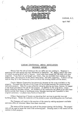 The Asbestos Sheet Apr. 1967