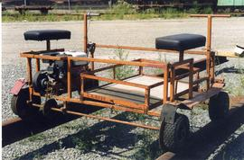 CN Kamloops Junction patrol trollies