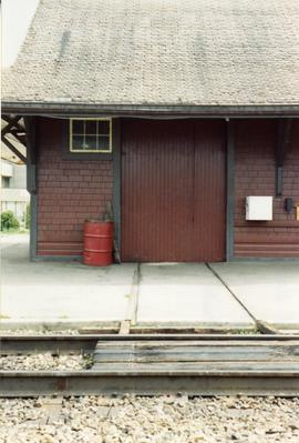 CPR maintenance of way shed