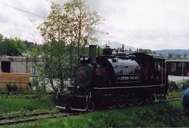 Alberni Pacific Railway train