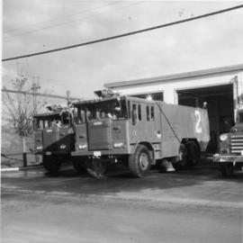 Foam pumper and truck