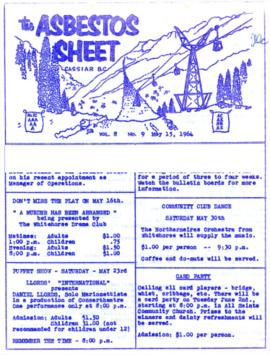 The Asbestos Sheet May 1964