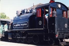Alberni Pacific Railway tourist locomotive