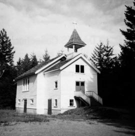 Catholic church at Shawnigan Lake