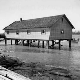 Fisherman's house about 5 miles southeast of New Westminster, B.C.