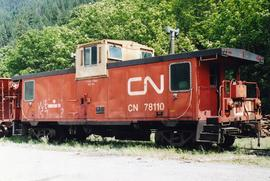 "CNR caboose ""For Engineering Use"""