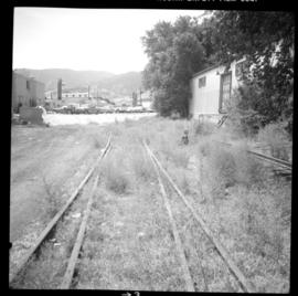 Disused CPR Kettle Valley Railway in Penticton