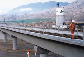 New bridge on the CNR Okanagan Branch