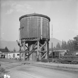 Water tank at Pacific Great Eastern Brackendale yards