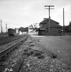 C.P.R. station in Abbotsford, B.C.