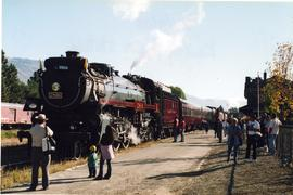 CPR locomotive 2816, Kamloops