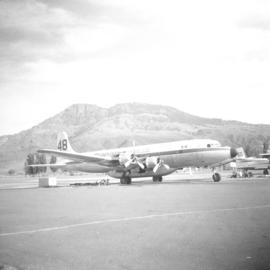 Air tanker fire base in Kamloops