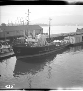 Tug at Kingcome Navigation Dock