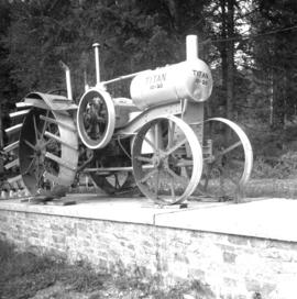 Early tractor found near Slocan