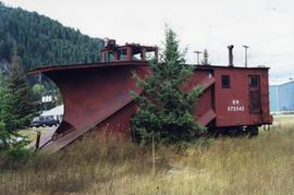 Burlington Northern snow plow