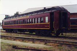 Pacific Wilderness Railway passenger car
