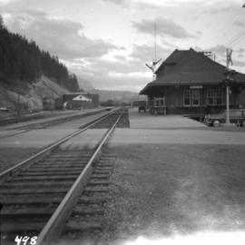 C.P.R. station at Golden, B.C.