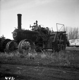 Sawyer Massey traction engine in Nanton, Alberta