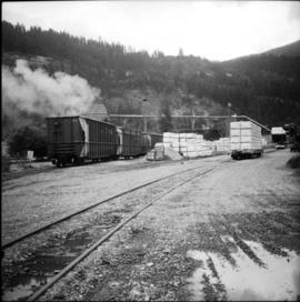 CPR yard of lumber mill