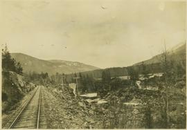 Railroad along the Skeena River