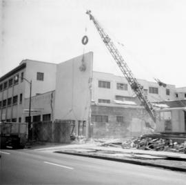 Demolished site of Nelson Laundries Ltd.