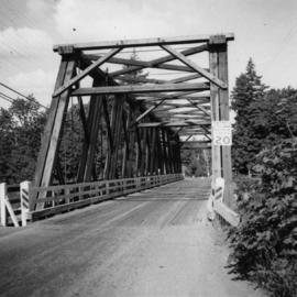 Bridge over Nanaimo River