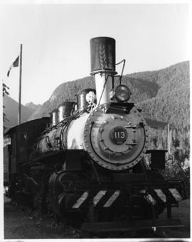 Canfor Locomotive 113 Woss Camp, Vancouver Island