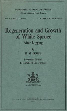 Regeneration and Growth of White Spruce After Logging