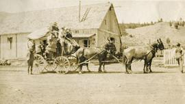 Stagecoach at Clinton