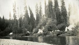 Camp on Little Salmon River