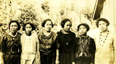 Six indigenous women