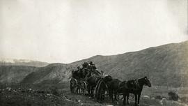 Stagecoach near Hat Creek